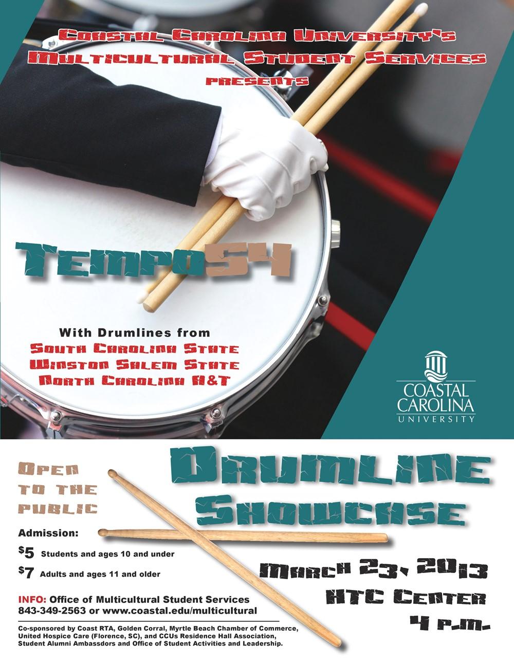 Temp54 Drumline Showcase - Coastal Carolina University