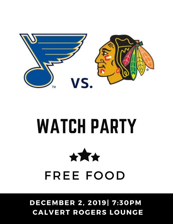 Blues Blackhawks Watch Party