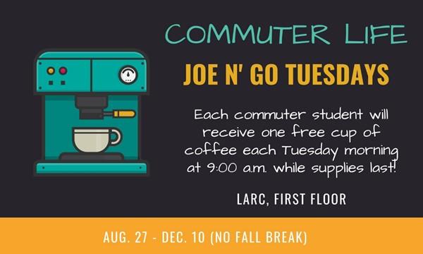 Commuter Life: Joe n' Go Tuesdays