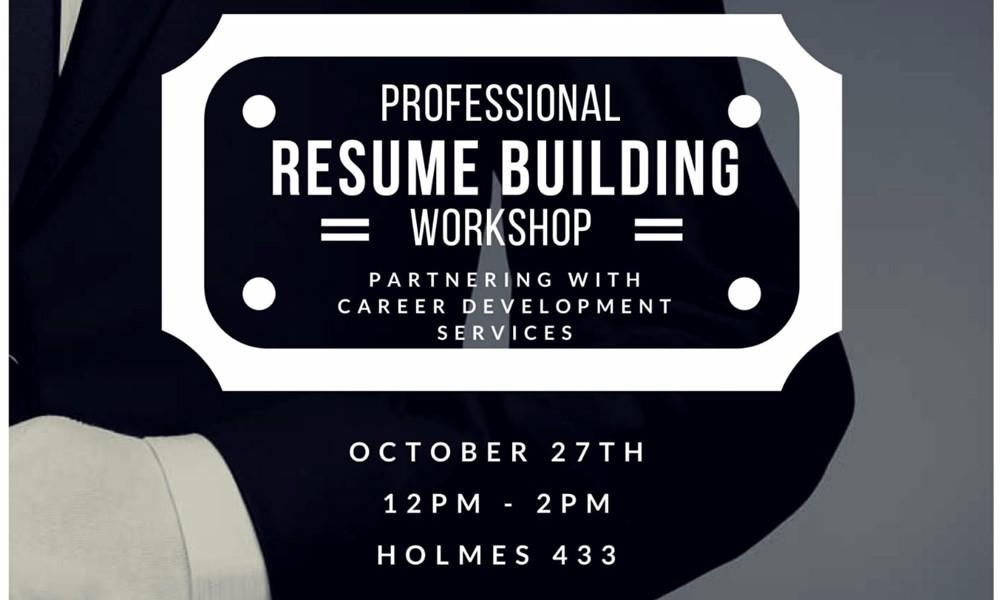 Resume Building And Professional Development Workshop Eaglelink